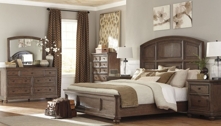 Maeleen Medium Brown Panel Bedroom Set