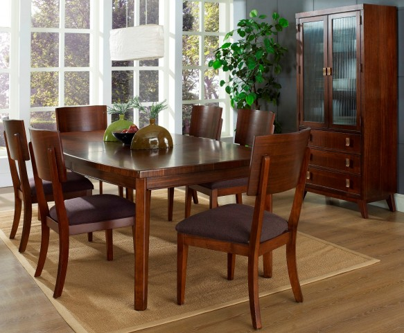 Perspective Leg Dining Room Set