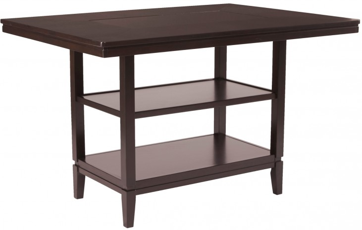 Trishelle Rectangular Dining Room Counter Table