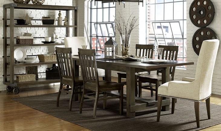 Karlin Rectangular Extendable Dining Room Set