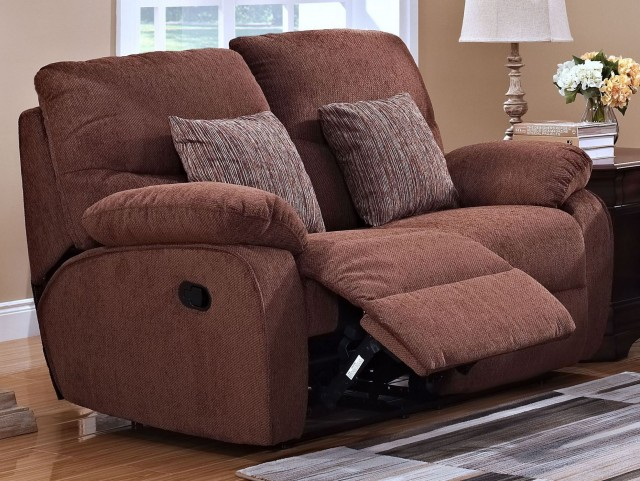 Cheshire Fudge Dual Reclining Loveseat