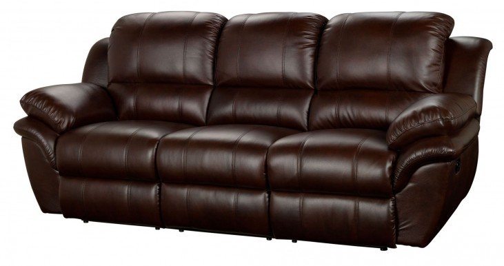 Cabo Brown Dual Power Reclining Sofa