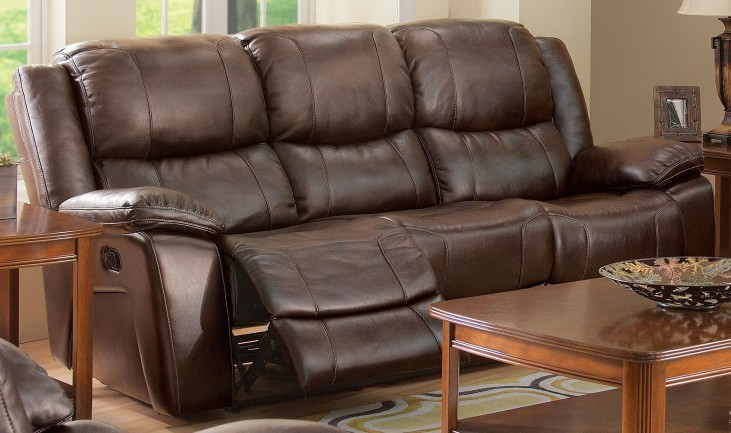 Kenwood Premier Brown Power Reclining Sofa