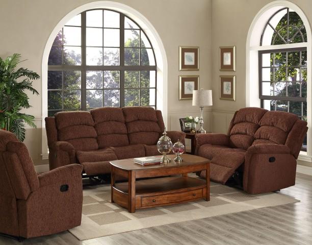 Ross Fudge Dual Reclining Living Room Set
