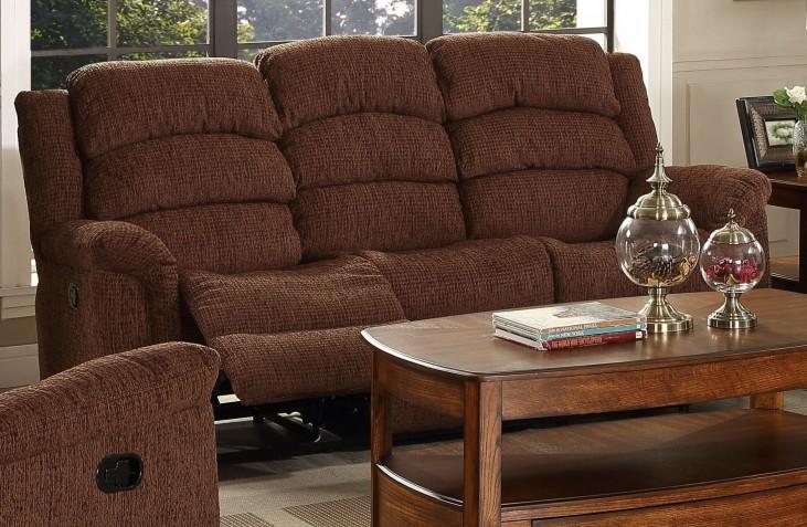 Ross Fudge Dual Reclining Sofa