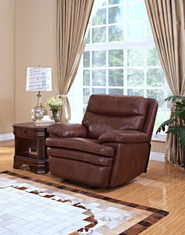 Hastings Summit Brown Power Recliner