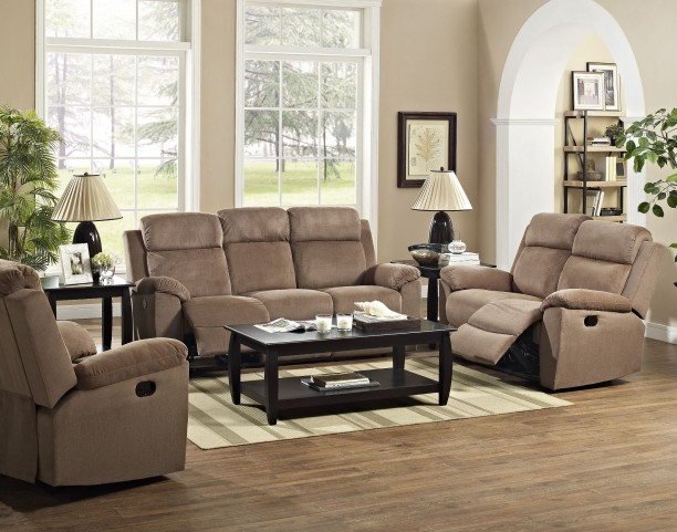 Samantha Brown Dual Reclining Living Room Set