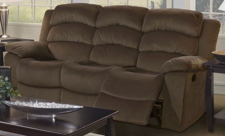 Miranda Chocolate Dual Reclining Sofa
