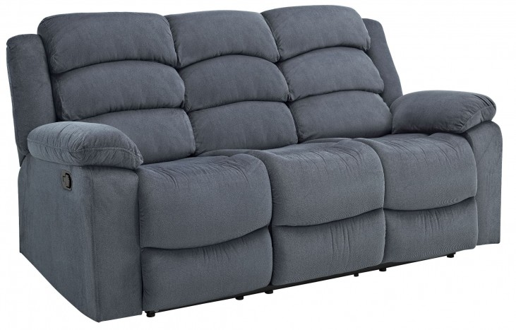Miranda Navy Dual Reclining Sofa