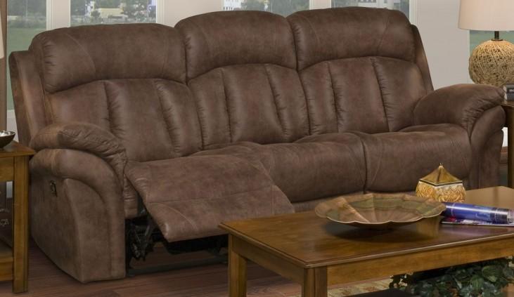 Maddox Bristol Mocha Dual Reclining Sofa