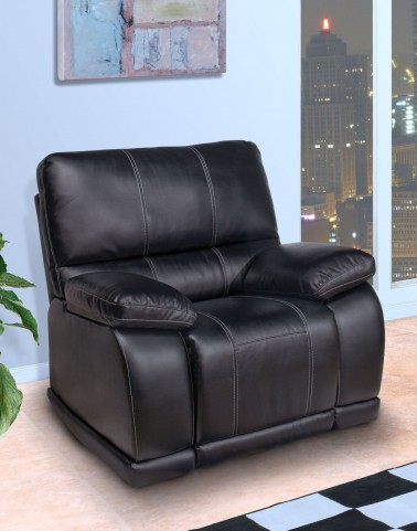 Electra Mesa Black Power Recliner