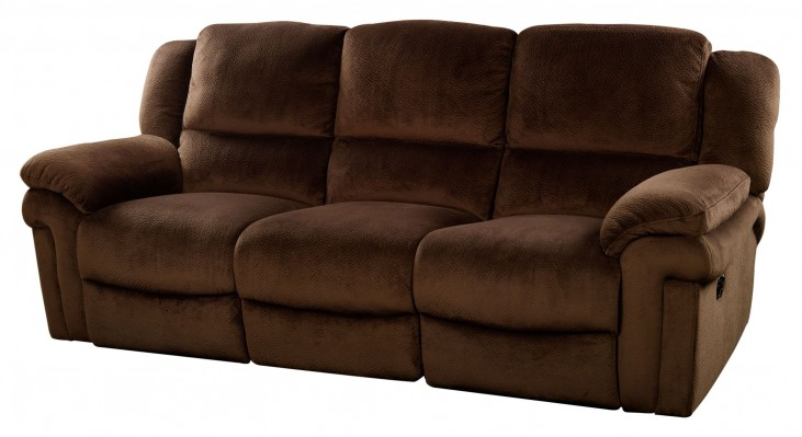 Jared Chocolate Reclining Sofa