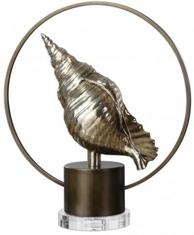 Sea Life Silver Shell
