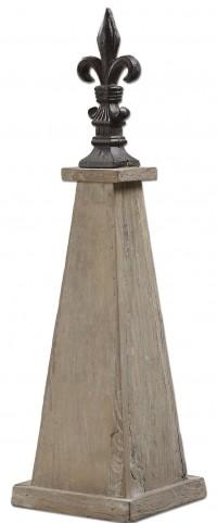 Azizi Elm Wood Finial
