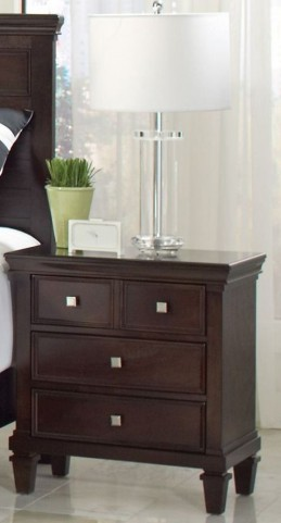 Camellia Brown Nightstand