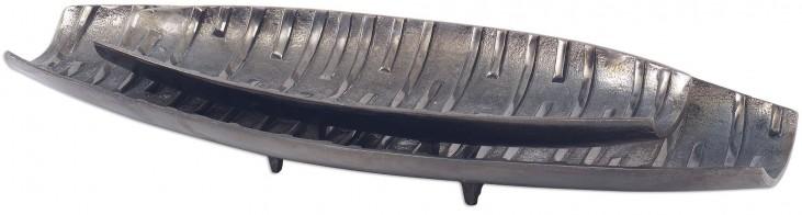 Aida Dark Nickel Trays Set of 2