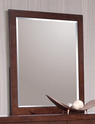 Jessica Dark Cappuccino Mirror