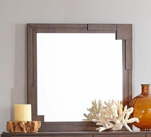 Gallaghargolden Brown Mirror