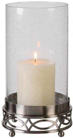 Umberto Nickel Candleholder