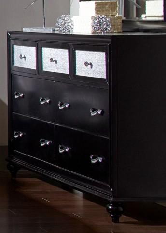 Barzini Black Dresser