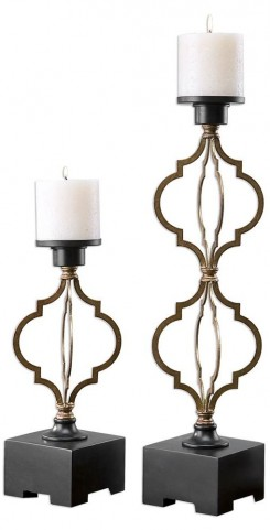 Gilberto Moroccan Candleholders Set of 2
