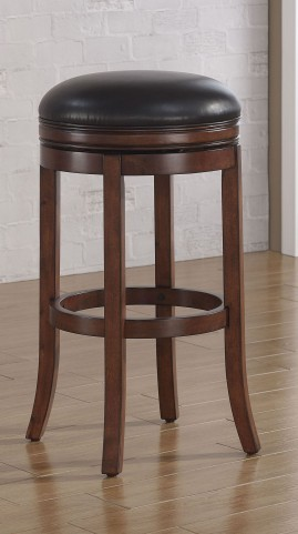 B2-200-30L Wood Frame Backless Bar Stool
