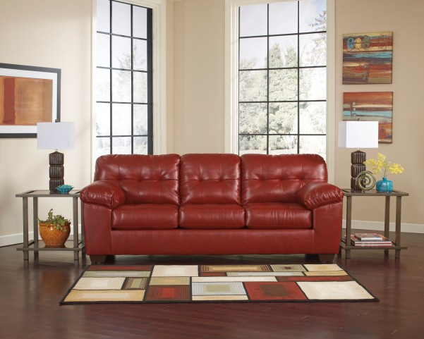 Alliston DuraBlend Salsa Stationary Sofa