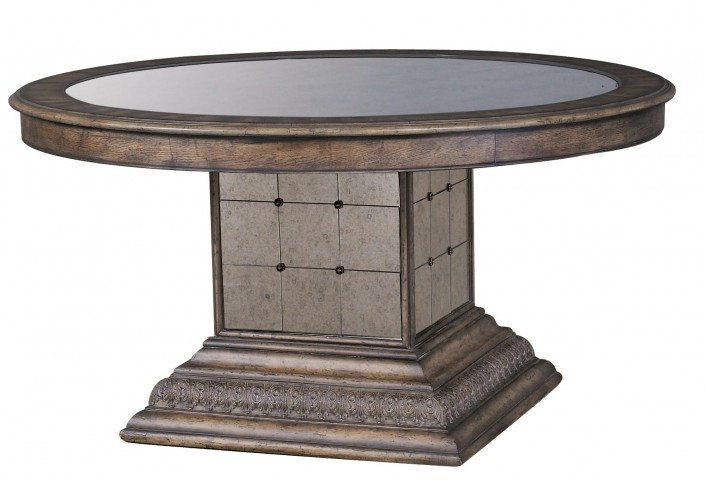 Accentrics Home Aphrodite Round Dining Table