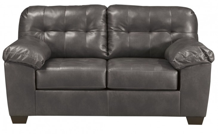 Alliston DuraBlend Gray Loveseat