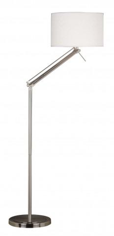 Hydra Brushed Steel Floor Lamp
