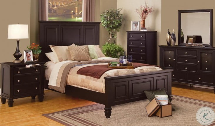 Sandy Beach Cappuccino Bedroom Set