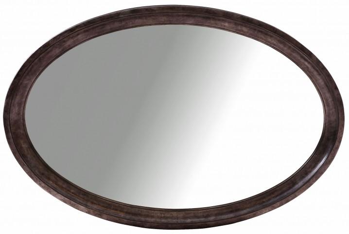 Classic Silver Leaf Oval Mirror