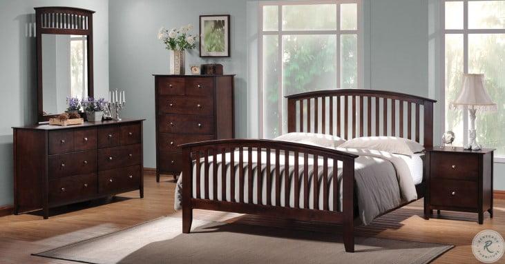Tia Panel Bedroom Set