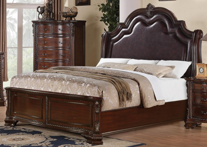 Maddison King Panel Bed