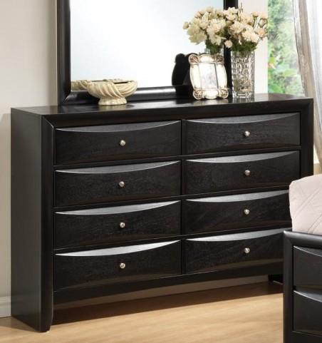 Briana Black Dresser