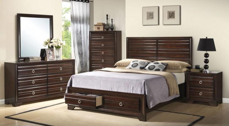 Bryce Storage Platform Bedroom Set