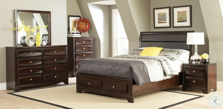 Jaxson Storage Platform Bedroom Set