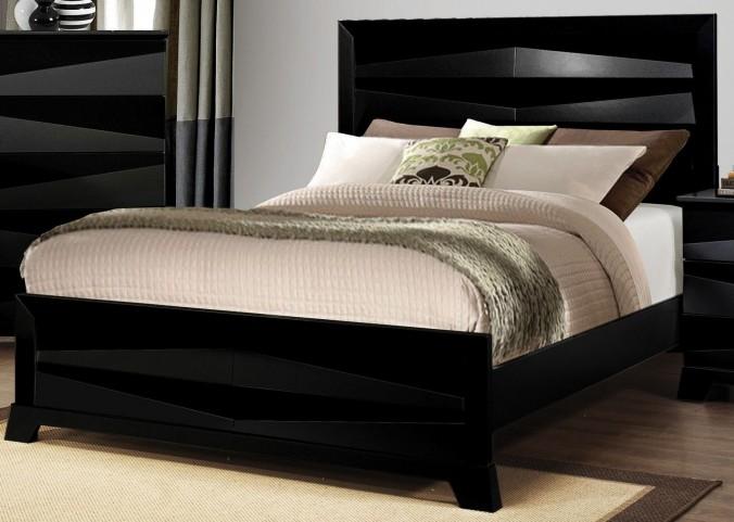 Karolina Queen Panel Bed