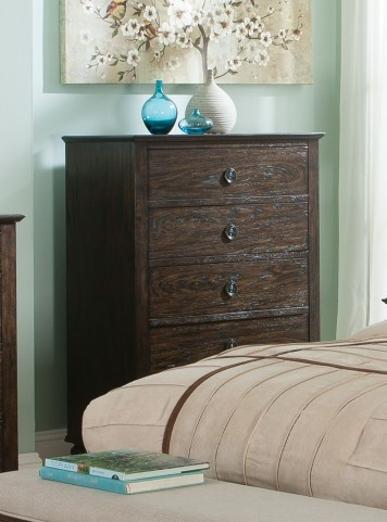 Saville Dark Oak Chest