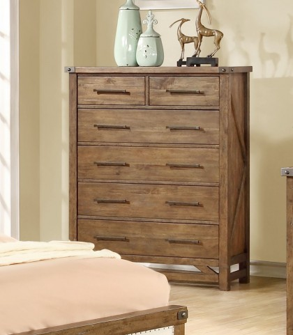 Bridgeport Weathered Acacia Chest