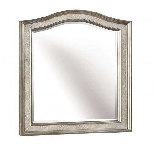 Bling Game Metallic Platinum Vanity Mirror