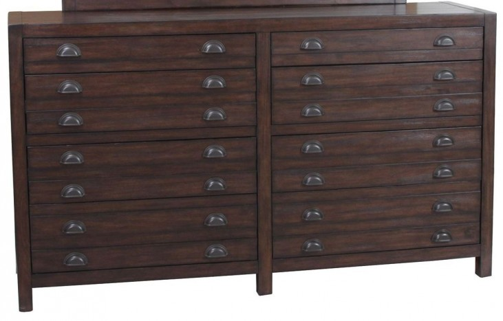 Lanchester Cocoa Dresser