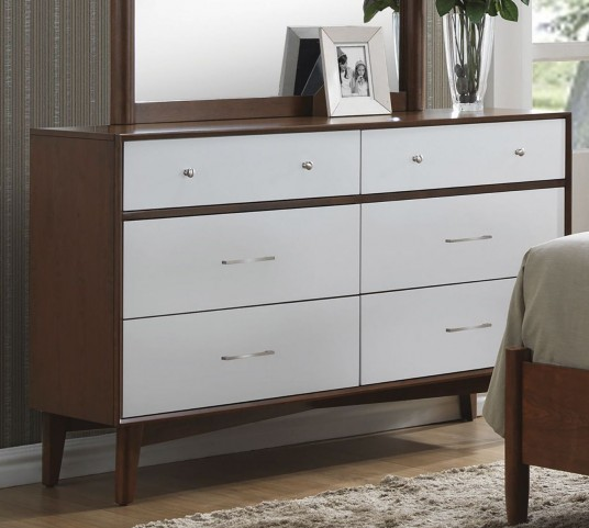 Oakwood Golden Brown Dresser