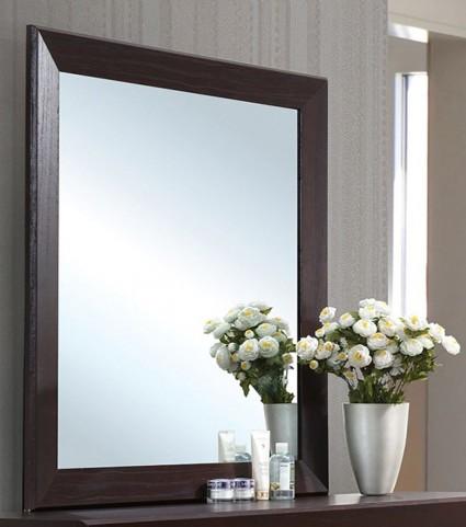 Fenbrook Dark Cocoa Mirror