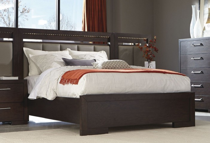 Berkshire Bitter Chocolate King Panel Bed