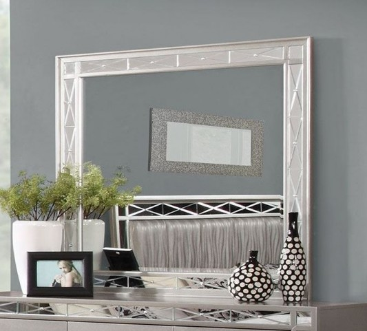 Leighton Metallic Mercury Mirror