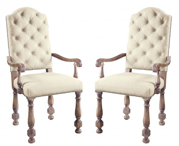 Accentrics Home Amethea Dione Arm Chair Set of 2