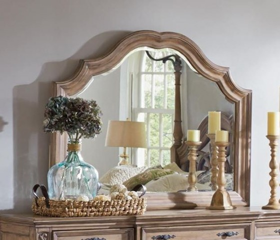 Ilana Antique Linen Mirror