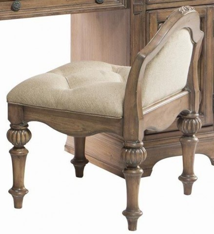 Ilana Antique Linen Vanity Stool