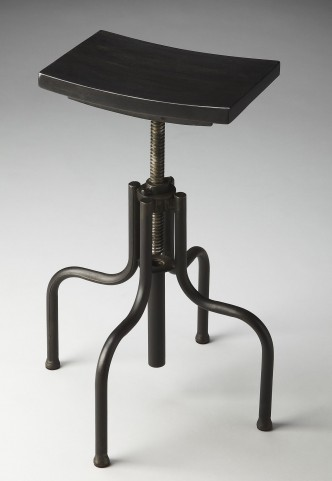 2051025 Industrial Chic Metalworks Revolving Bar Stool